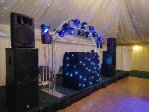 Wedding DJ at Batch country house, Lympsham