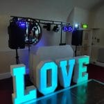 Wedding DJ at The Castel Hotel, Taunton