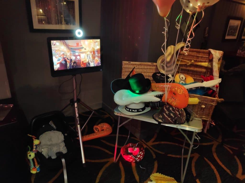 Photo booth and DJ hire in weston-super-mare